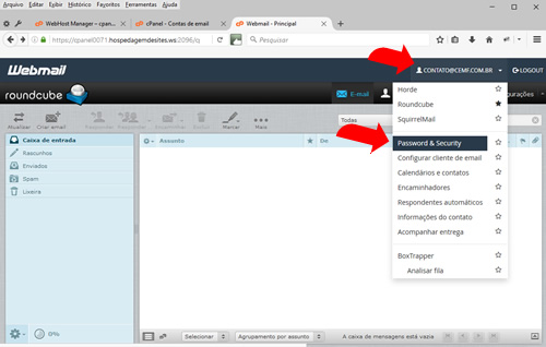 JRM - webmail Cpanel